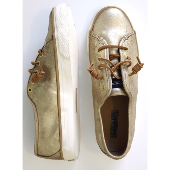 Sperry Top Sider Seacoast Metallic Gold